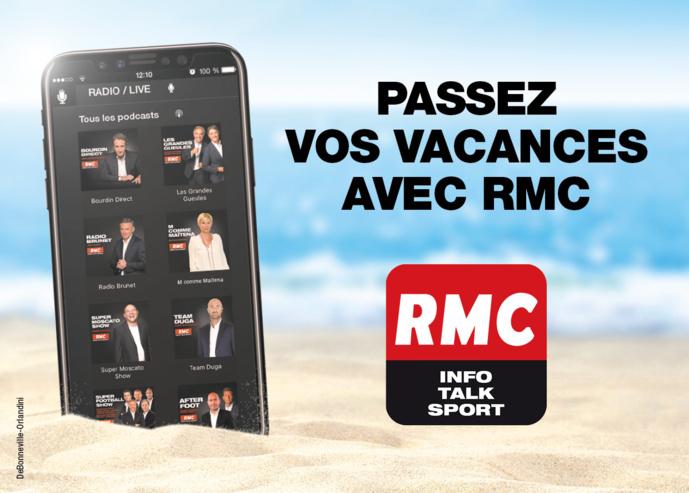 RMC reste mobilisée tout l'été