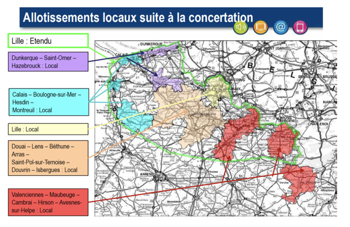 Suivra dans les prochains mois un déploiement sur l'Alsace, l'agglomération lyonnaise, la Normandie, le Grand Nantes, Bordeaux et Toulouse