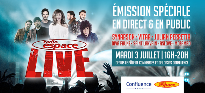 """Émission spéciale avant le """"Radio Espace Live"""""""