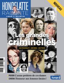 """Le magazine """"Hondelatte Raconte, le magazine"""" est en kiosque"""