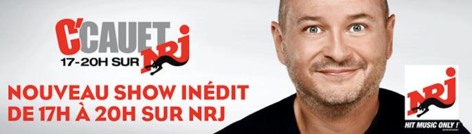 NRJ annonce le retour de Cauet de 17h à 20h