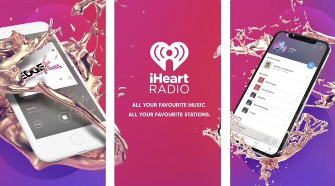 L'application iHeart Radio est bourrée de fonctionnalités.