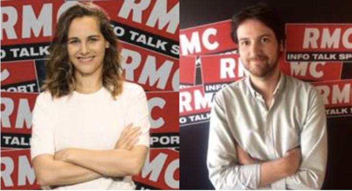 Anaïs Castagna et William Galibert seront sur RMC dès 4h30.