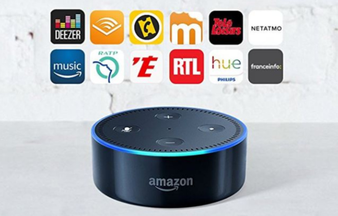 Amazon Echo domine le marché. Depuis son lancement en France, de nombreuses radios ont intégré le service.