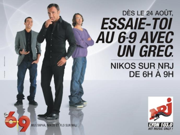Campagne pour son émiission sur NRJ en 2009.