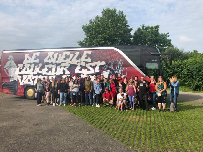 40 auditeurs, chanceux, ont pu profiter du bus Rouge FM pendant l'été !