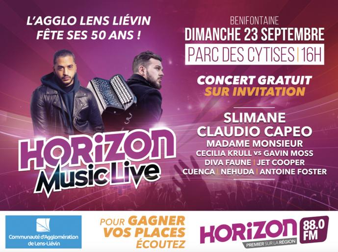 """Horizon prépare un nouvel """"Horizon music Live"""""""