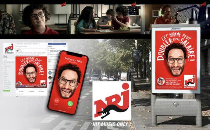 Nouvelle campagne de rentrée pour NRJ