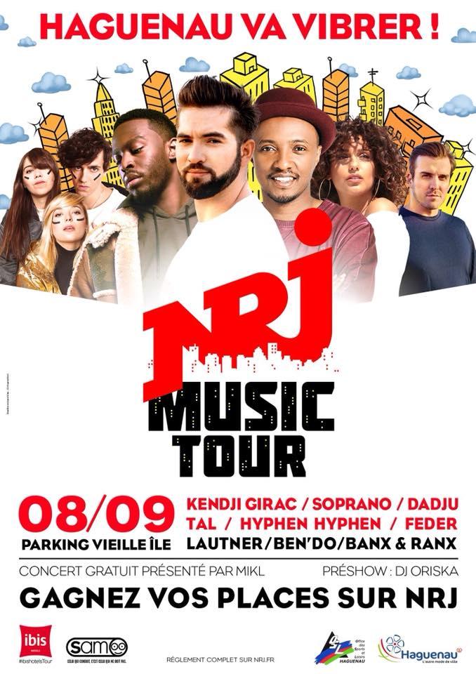 Haguenau prochaine étape du NRJ Music Tour