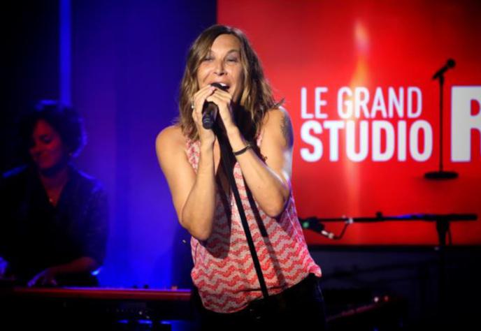 La chanteuse Zazie sera demain samedi dans le Grand Studio RTL © Sipa Press Fred Bukajlo