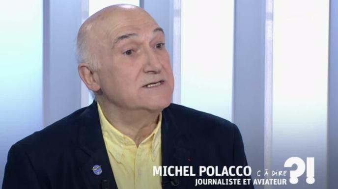 Michel Polacco intervient régulièrement dans les médias en tant que spécialiste de l'aéronautique.