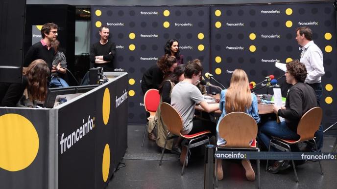 L'atelier franceinfo permet de découvrir les métiers de la radio © Christophe Abramowitz / Radio France