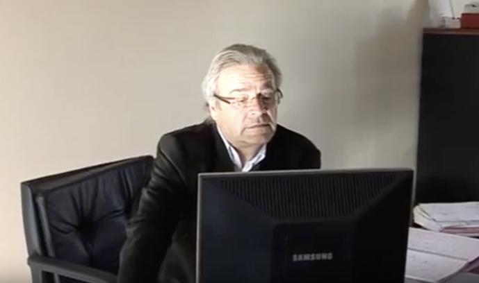 Jean Chapron a dirigé Ouest FM pendant 30 ans / Photo capture YouTube Didier Leroy