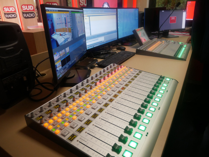 Découvrez les nouveaux studios de Sud Radio