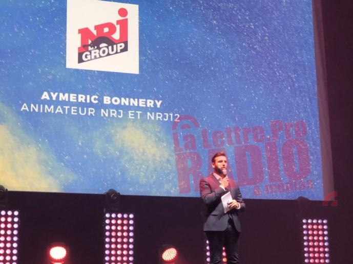 Maître de cérémonie, Aymeric Bonnery, animateur du Rico Show sur NRJ / Photo François Quairel