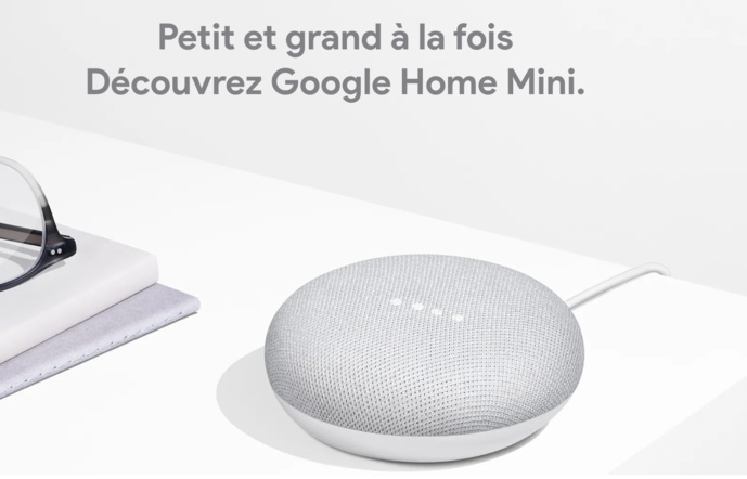 Le Google Home Mini a dépassé Amazon Echo Dot.