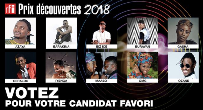 Dix finalistes au prix Découvertes 2018 de RFI