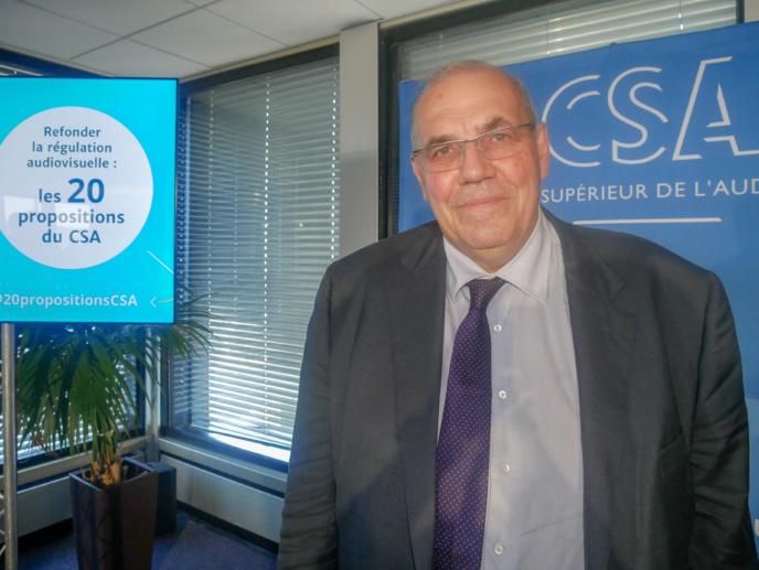Nicolas Curien est membre du CSA depuis 2015 et jusqu'en 2021 / Photo François Quairel