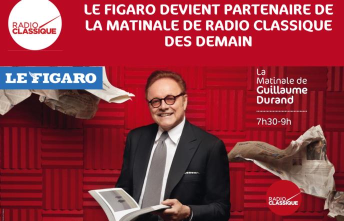 Radio Classique : reprise de la matinale par Le Figaro
