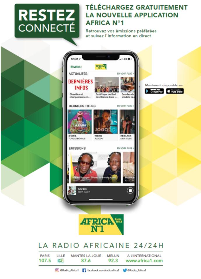 Africa N°1 dévoile sa nouvelle application