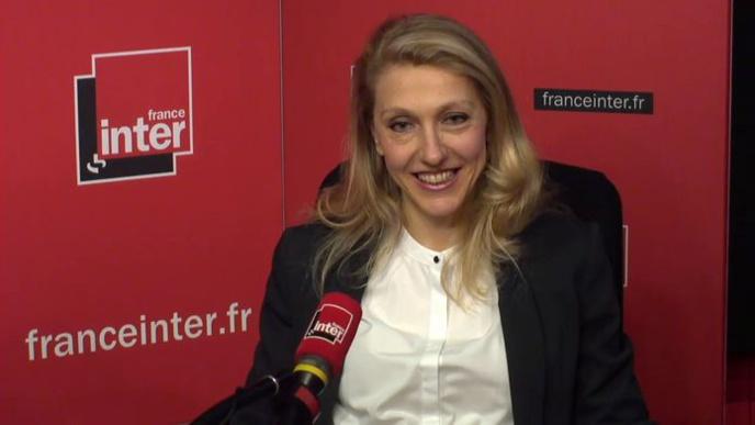 """Sibyle Veil était l'invitée de France Inter dans l'émission médias """"L'Instant M""""."""