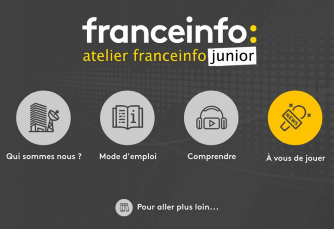 Lancement de l'application franceinfo junior