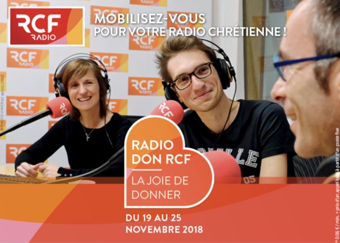 RCF organise son 10e Radio Don du 19 au 25 novembre
