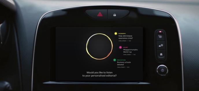 Voilà à quoi ressemble le projet AEX lancé par Renault et Challenges.