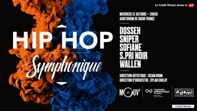 """Mouv' : """"Hip Hop Symphonique"""" c'est ce mercredi"""