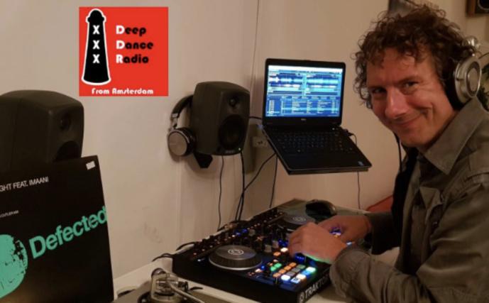 Deep Dance Radio, un mix inédit créé à Amsterdam