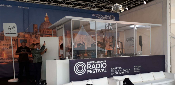 L'International Radio Festival 2019 de Malte : c'est parti !