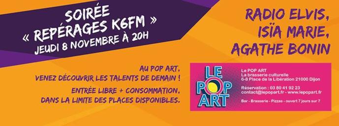 """Nouvelle soirée """"Repérages"""" proposée par K6FM"""