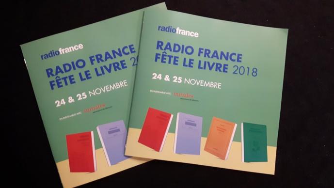 Radio France fêtera le livre les 24 et 25 novembre