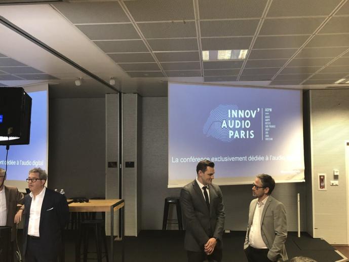 La première conférence Innov'Audio réunissant les grands acteurs du marché ce mardi 6 novembre à Paris.
