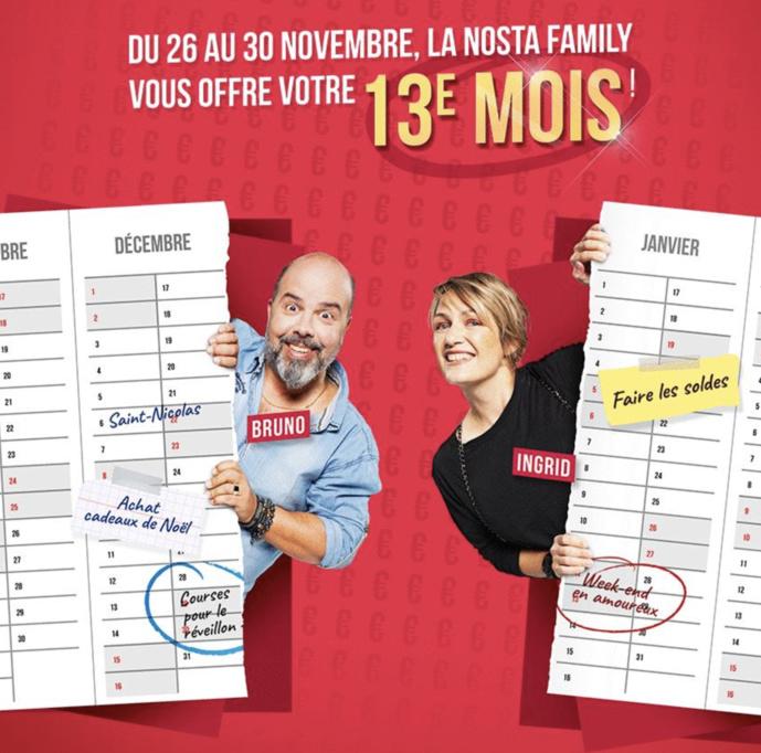 Un 13e mois de salaire à gagner sur Nostalgie Belgique
