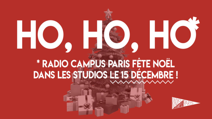 Radio Campus Paris fête Noël