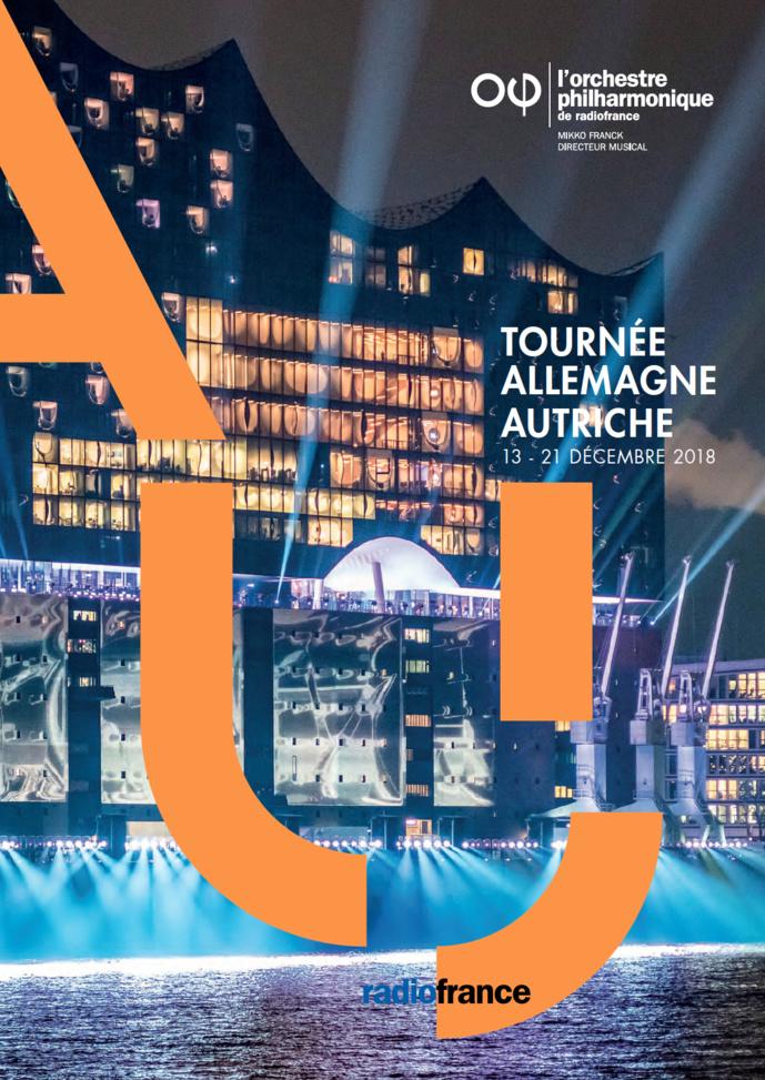 Radio France : tournée de l'OPRF en Allemagne et en Autriche