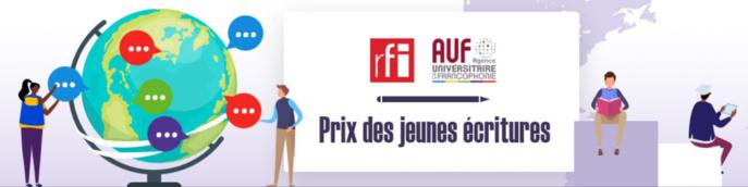 """Première édition du """"Prix des Jeunes Écritures RFI-AUF"""""""