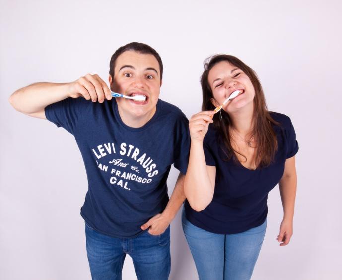 Depuis septembre, Michaël et Louise sont aux commandes de la nouvelle matinale. © Delta FM