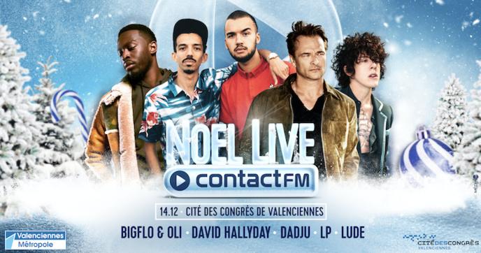 """Contact FM organise un """"Noël Live"""" à Valenciennes"""