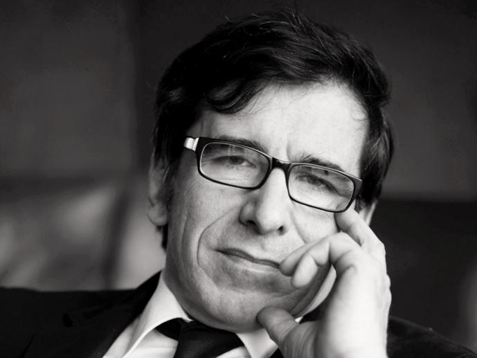 François Chaix, voix d'antenne de Contact FM. © D.R.