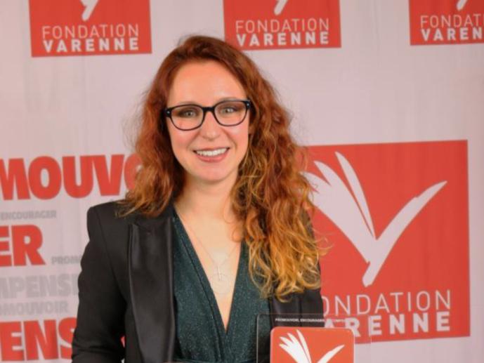 Bettina de Gugliemo lauréate du Prix Varennes Radio 2018