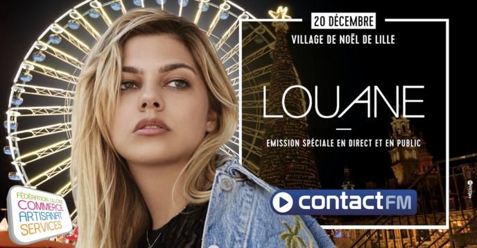 Contact FM : une émission spéciale avec Louane