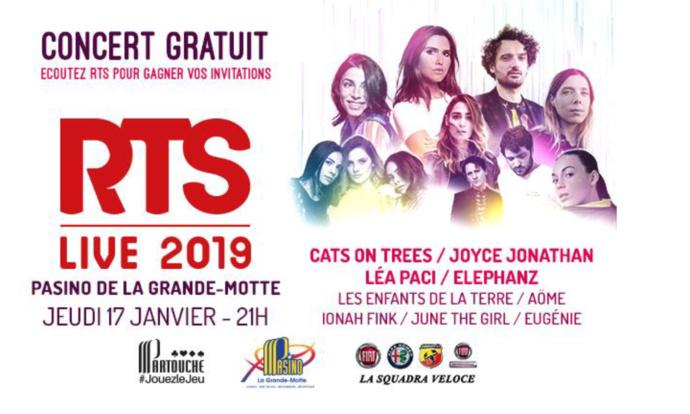 """Premier """"RTS Live"""" de l'année pour RTS"""