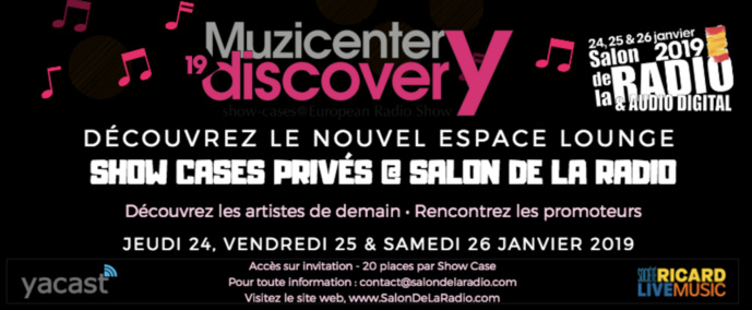Quinze showcases au Salon de la Radio