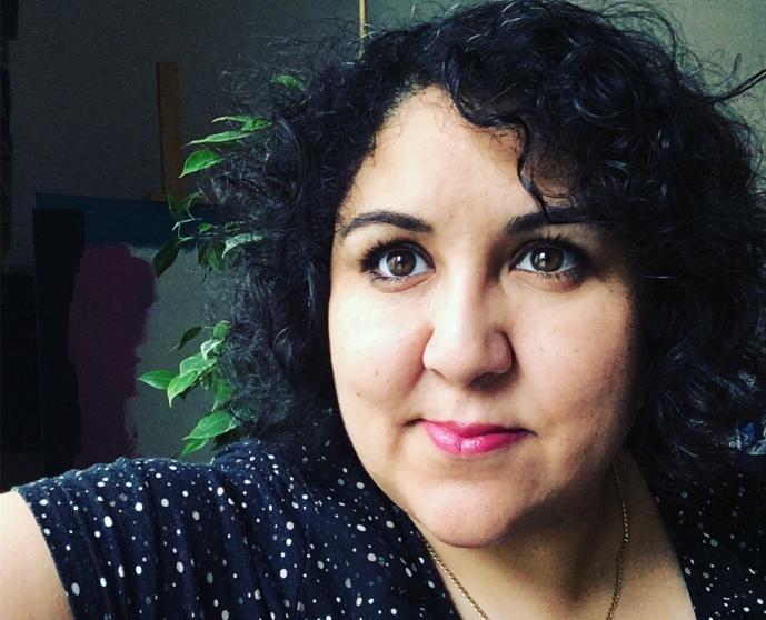 Carine Fillot, une radio-hacktiviste passionnée de radio et d'audio digital. © D.R.