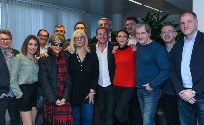 Le jury 2019 des Jeunes Talents de la Radio, de la TV et du Net s'est réuni vendredi dernier au siège de Médiamétrie pour effectuer les dernières sélections avant la finale ©Michael Le Ho