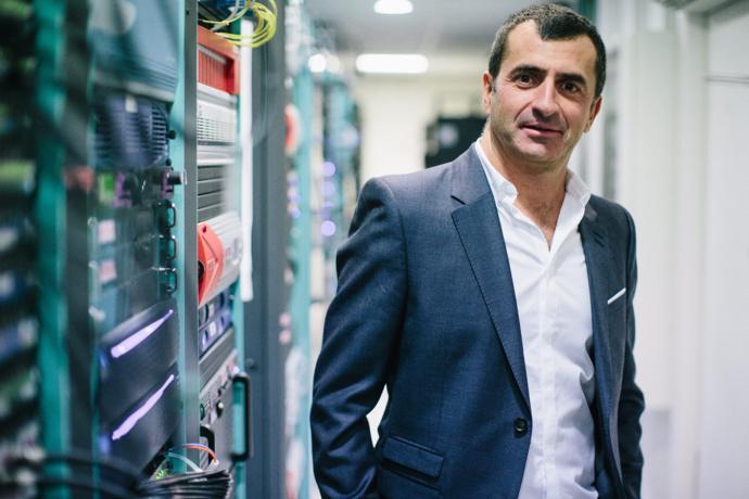 Selon Raphaël Eyraud : towerCast maîtrise les solutions permettant une diffusion DAB+ de qualité. © D.R.