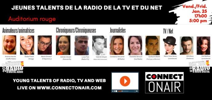 Salon de la Radio : voici les Jeunes Talents
