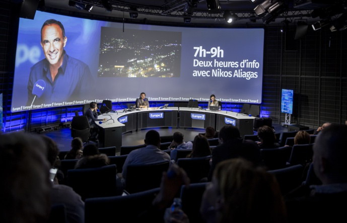 Le studio Bellemare inauguré le 20 décembre dernier, dans les locaux d'Europe 1